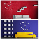 3D DIY Large Wall Clock - marketplacefinds  - 5