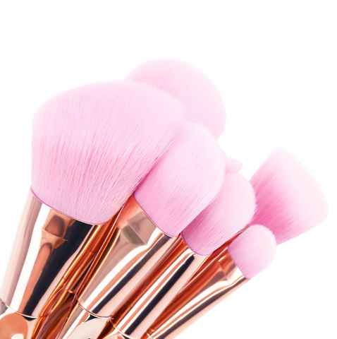8 Pcs. Makeup Brush Set