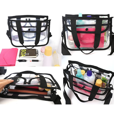 Cosmetic Makeup Clear Travel Bag