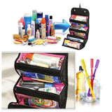 Travel Cosmetic Makeup Organizer Storage Case