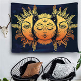 Moon Sun Mandala Wall Hanging
