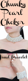 Chunky Pearl Choker and Necklace
