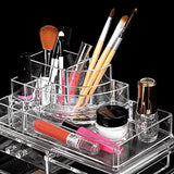 Women's Fashion Cosmetics Makeup  Drawers Display Clear Cosmetics Containers Box Storage - marketplacefinds  - 2