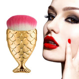 Fish Tail Makeup Brush Set - 4 Pcs