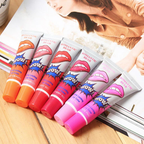 Tattoo Peel Off Lip Gloss Tint Long Lasting Waterproof Cosmetics - marketplacefinds  - 1