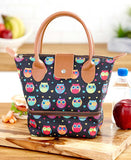 Insulated Lunch Totes with Dual-Compartment - marketplacefinds  - 5