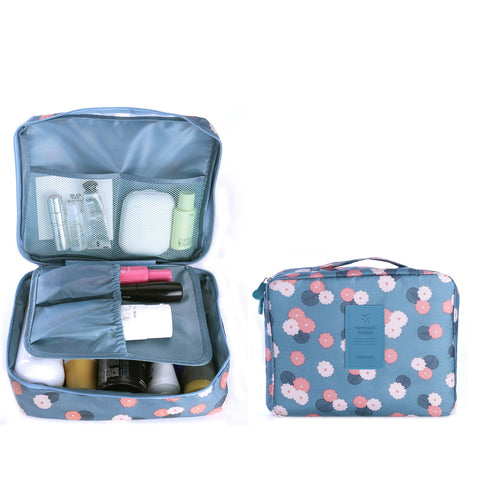 Travel Cosmetic Makeup Toiletry Case