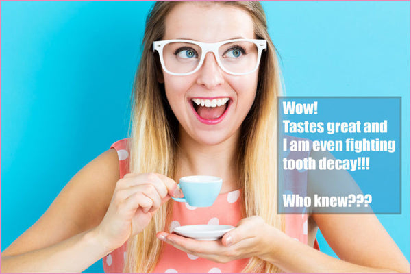 COFFEE CAN HELP BOOST YOUR ORAL HEALTH