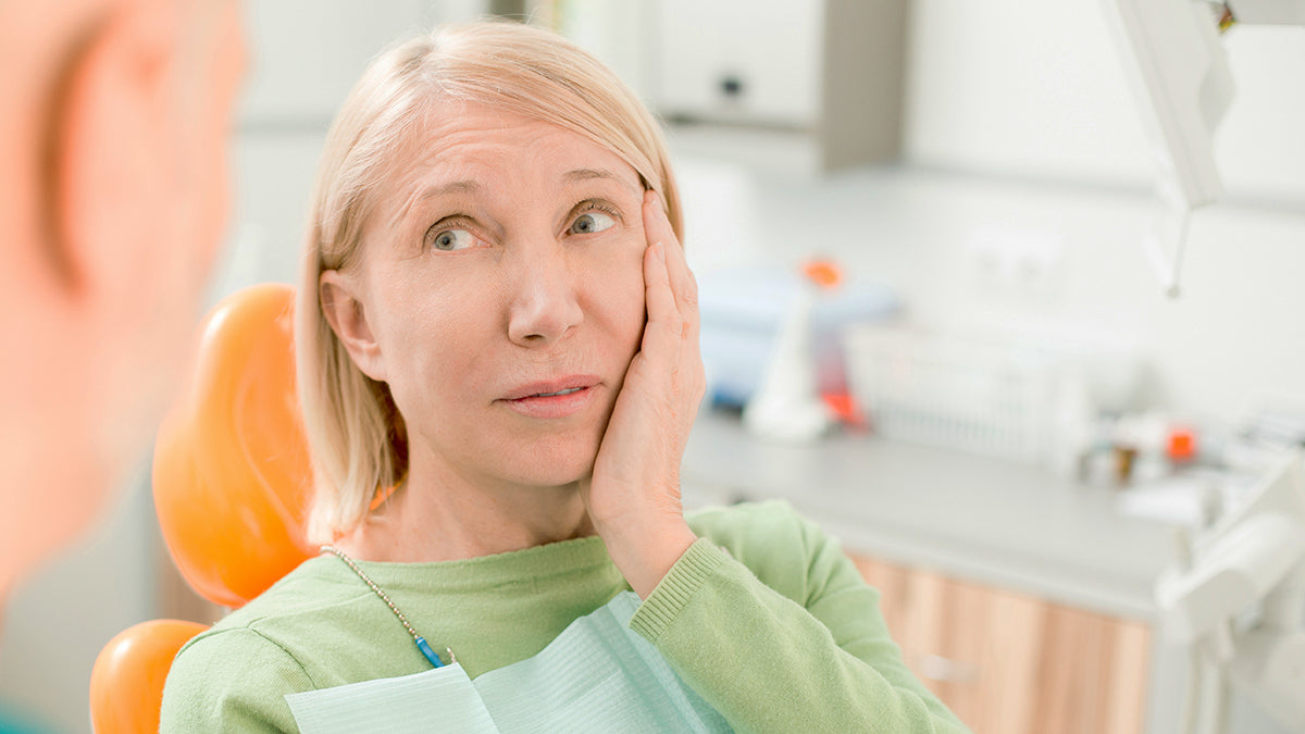 woman, tooth ache, tooth erosion