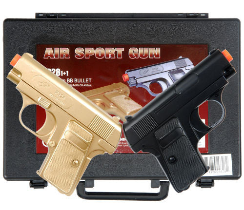 CYMA TWIN SPRING AIRSOFT DUAL PISTOL COMBO PACK SET