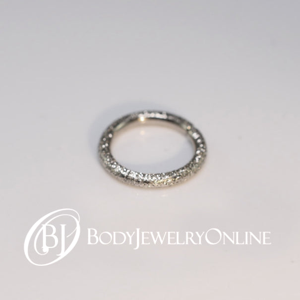 Nose Ring Diamond Cut Sparkly Cartilage Gold Or Silver 16
