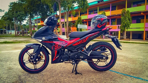 Y15ZR Body Cover Set Exciter 2016 Red Ori (OFFER)