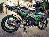 Y15ZR Body Cover Set Exciter 2016 Green Ori