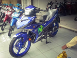 Y15ZR Cover Set Movistar Ori YAMAHA (No Seat Bar)