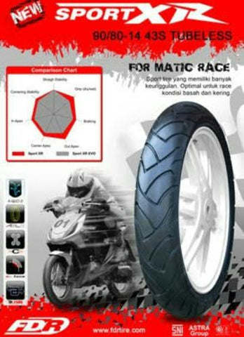 FDR Racing Tyre Sport XR Tubeless Compound