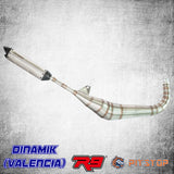 Dinamik Racing Exhaust R9 Valencia