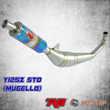 Y125Z Racing Exhaust R9 New Mugello Std Cutting