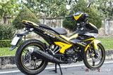 Y15ZR BODY COVER SET EXCITER Kuning Hitam ORI YAMAHA