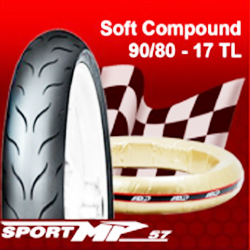 FDR Racing Tyre Sport MP 57 Tubeless (Racing Compound)