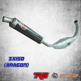 ZX150 Racing Exhaust R9 Aragon