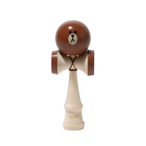 LINE KENDAMA - Brown