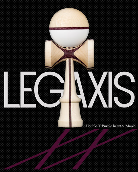 LEGAXIS - Double X Purple Heart x Maple