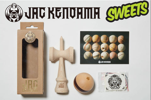 JAC KENDAMA × Sweets cushion paint