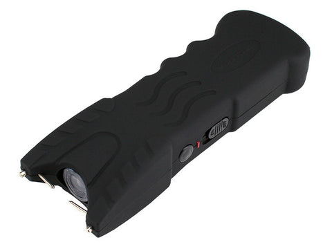 VIPERTEK VTS-979 - 300,000,000 Stun Gun - Rechargeable with Safety Disable Pin LED Flashlight, Black