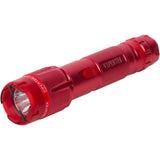 VIPERTEK VTS-T03 - 230,000,000 Heavy Duty Stun Gun - Rechargeable with LED Tactical Flashlight, Red