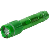VIPERTEK VTS-T03 - Heavy Duty Stun Gun - Aluminum Rechargeable with LED Tactical Flashlight, Green Taser