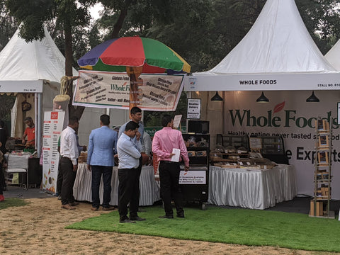 Whole Foods at Palate Fest, Nehru Park, Chanakya Puri