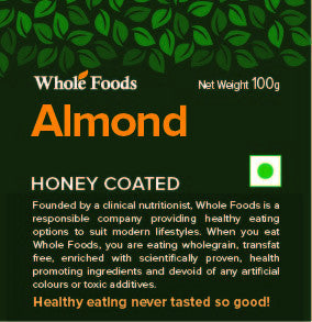 Honey Coated Almond