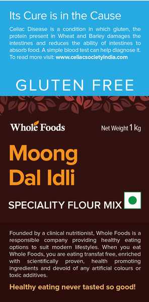 Gluten Free Moong Dal Idli Mix