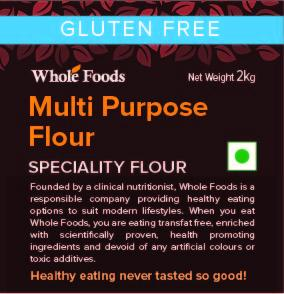 Gluten Free Multipurpose Mix 2kg