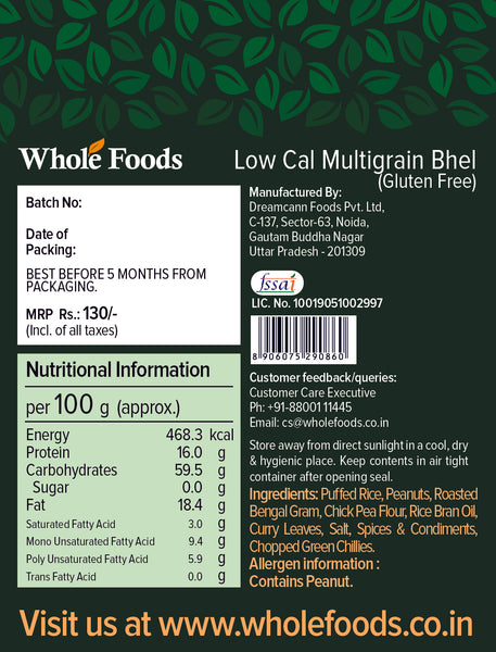 Low Cal Multigrain Bhel