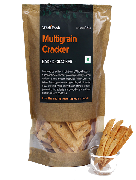 Baked Multigrain Cracker