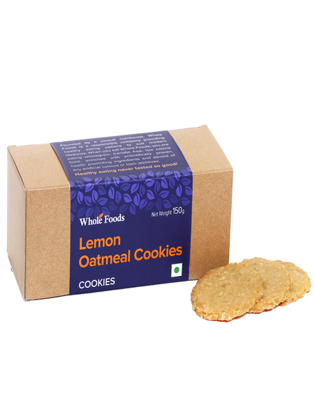 Lemon Oatmeal Cookies  Veg