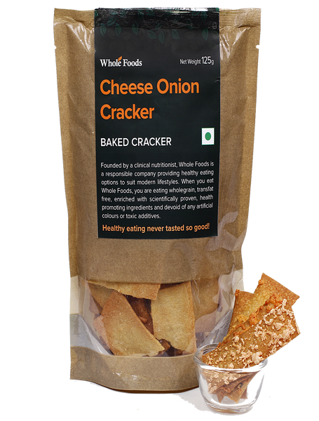 Cheese Onion Cracker