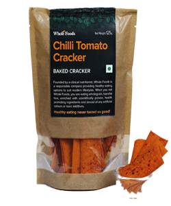 Baked Chilli Tomato Cracker
