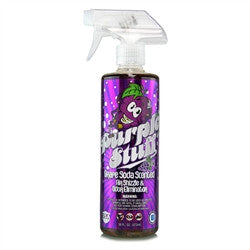 AIR FRESHENER & ODOR ELIMINATOR (16 OZ) CHEMICAL GUYS AIR_222_16 - PURPLE STUFF GRAPE SODA SCENT PREMIUM - Chemical Guys W.A.