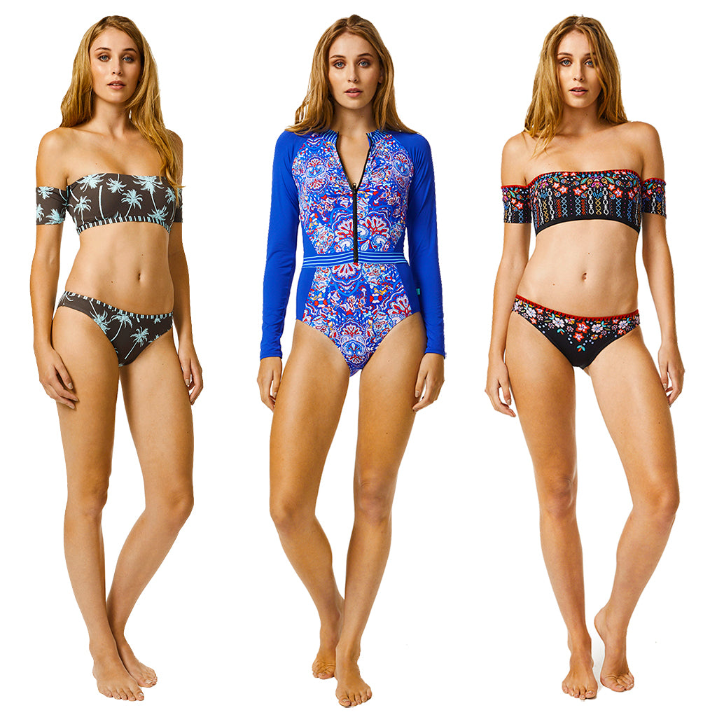 Piha Sleeve Swimwear at Bare Essentials