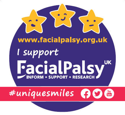 Facial Palsy UK Car Sticker