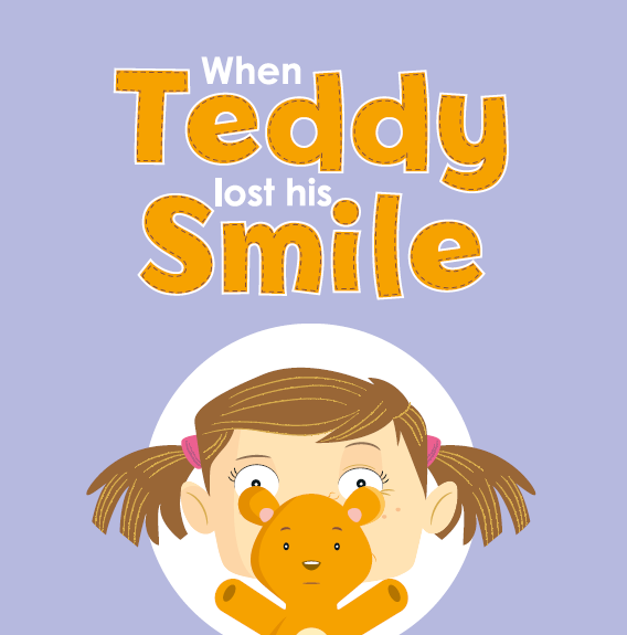 When Teddy Lost His Smile - Children's Book supporting children with facial paralysis