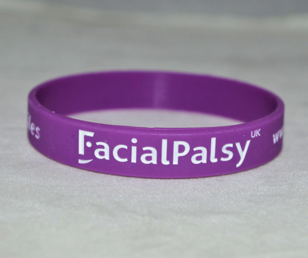 Facial Palsy UK #uniquesmiles Wristband