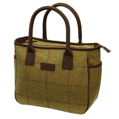Heather Tweed Messenger Bag