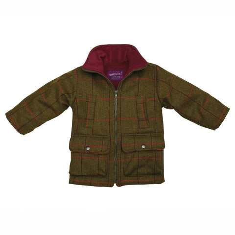 BRITISH COUNTRY COLLECTION - TWEED FLEECE LINED JACKET