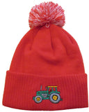 British Country Collection Pom Pom Hat - Red Tractor