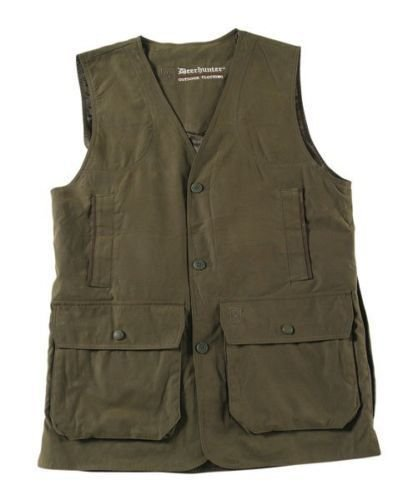 Deerhunter Daytona Classic Shooting Waistcoat Vest Cartridge Pockets Game Pouch