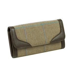 Heather Iris Tweed Purse (ZB006)