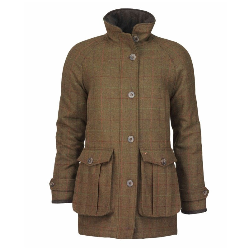Laksen Ladies Temple Tweed Shooting Coat with CTX